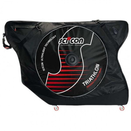 Сумка чехол для велосипеда AeroComfort Triathlon with external lateral shields - 131*45*90 cm